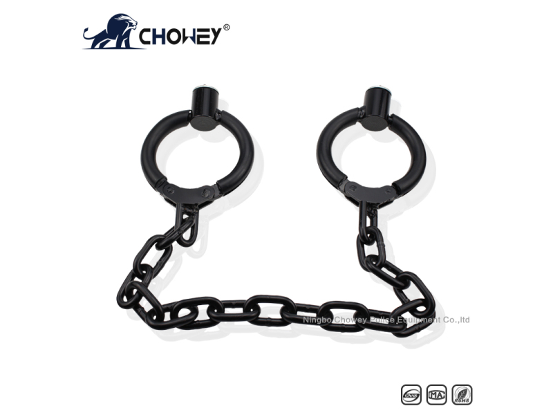 Nickel plated carbon steel legcuffs FT0109