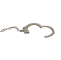 Nickel plated carbon steel legcuffs FT0636