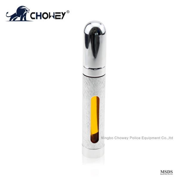 Self Defense  Mini pepper spray PS10M009 sliver