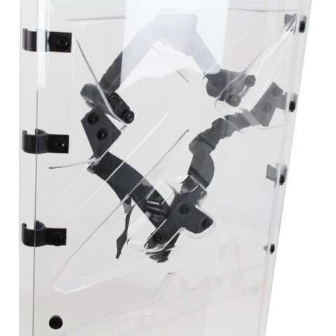 Transparent Anti-Riot Shield with PC Material AS2068