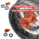 VMX SUPERMOTO WHEELS SET FOR KTM EXC SX-F 125 200 250 300 400