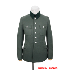 WWII German Heer M28 General Officer Gabardine service tunic jacket II