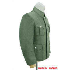 WWII German Police M41 officer wool service tunic Jacket