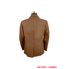 WWII German Political officer brown wool tunic
