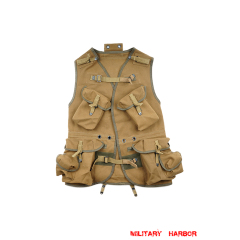 WWII US ARMY D Day Assault Vest in OD No.3