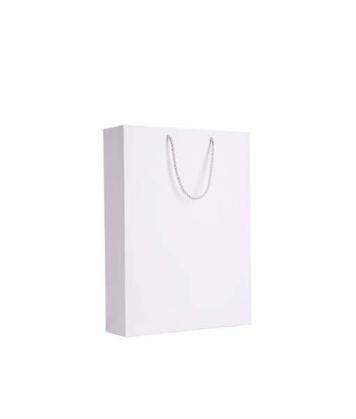 230g white Paper Handle Bags