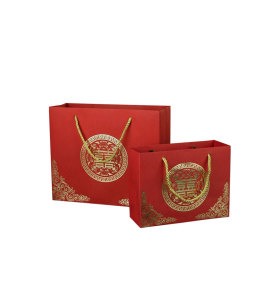 230g white paper Shopping Paper Bags
