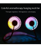 USB rechargeable Fashion hanging neck portable mini usb charging sports Neck hanging fan