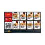 19 22 32 43 49 55 65 70 inch LCD electronic menu display digital signage