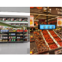 Digital Shelf Edge Advertising Screen LCD Stretched Digital Signage Stretched Bar LCD Display