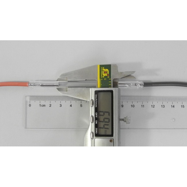 Xenon lamp - Ncrieo 7*50*110 with wires German quartz