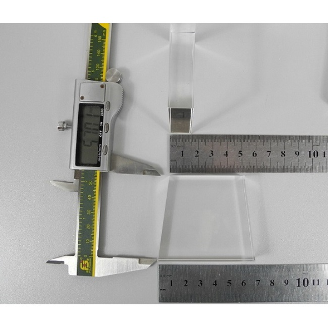 light guide, BK7, trapezium, 15mm*50mm*65mm*57mm H57mm, without coating