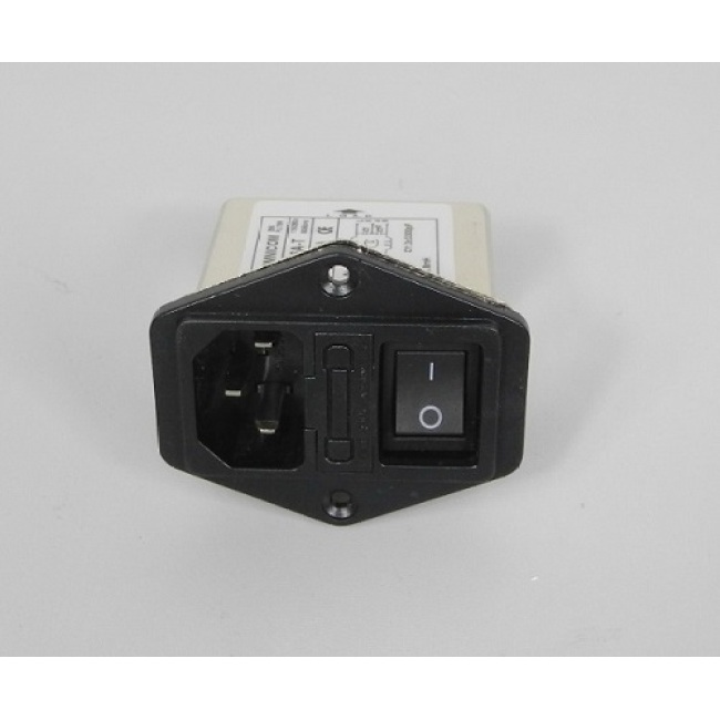 power outlet, 10A, with filtering