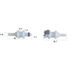 water valve, no. 1
