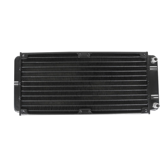 water radiator, 273mm*120mm*30mm, with fans