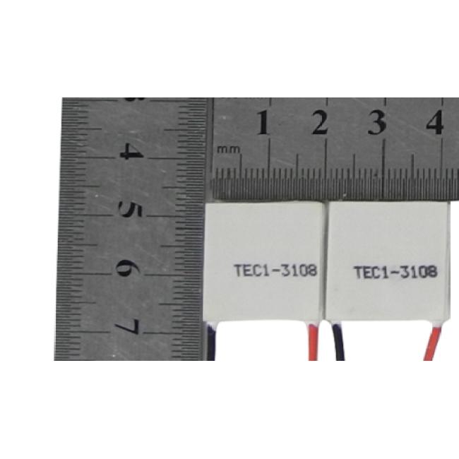 Peltier module, TEC1-3108 20mm*20mm*3mm
