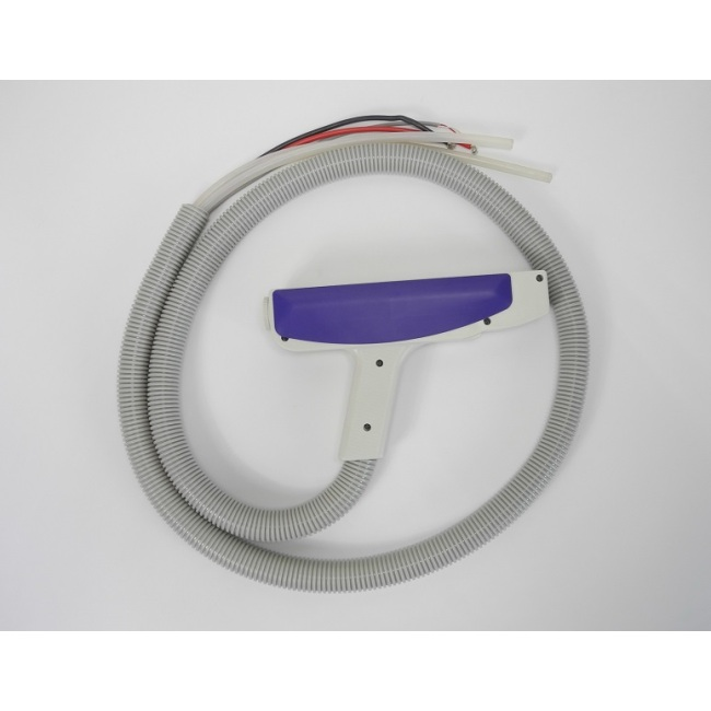 Yag laser hand piece, with 3 filters, 1064nm+532nm, without connector