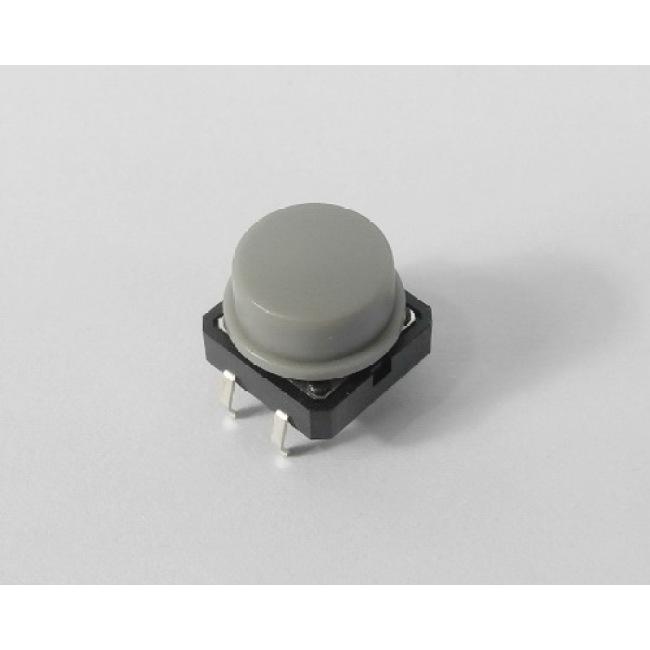 Hand piece button, grey