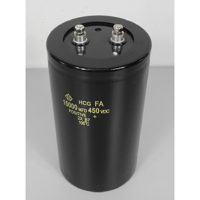energy storage capacitor, 15000μF, 450V, 90*160