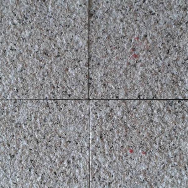 bush hammered G635 granite
