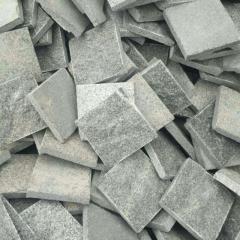 Natural split G654 granite cobblestone