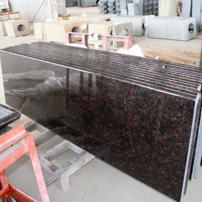 Tan brown granite counter tops