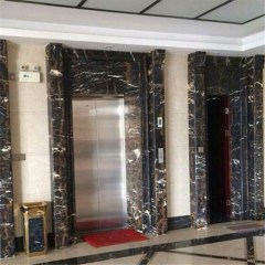 Marble lift door surround