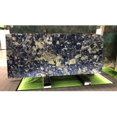 Luxury blue stone marble slabs for luxury hotel inner decoration