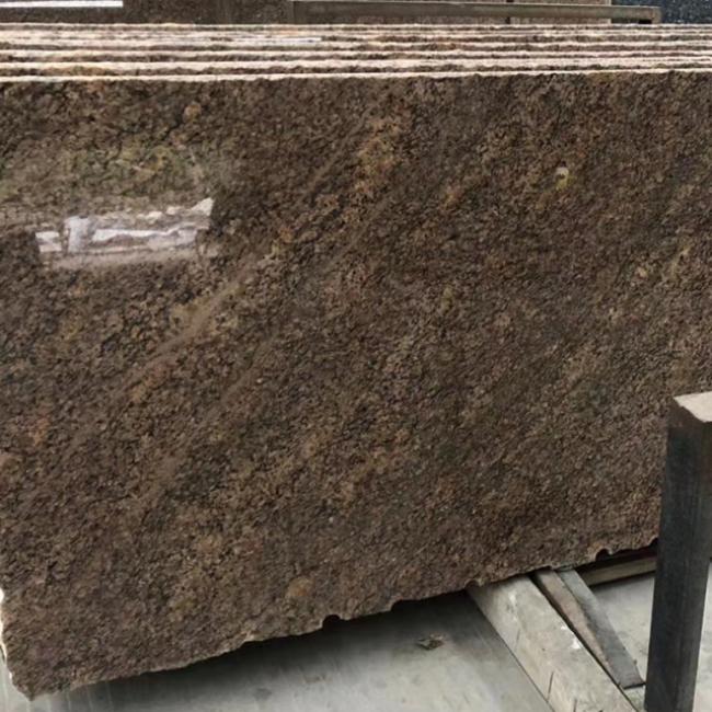 Giallo california granite tiles