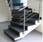 G684 granite stair steps ,black granite steps