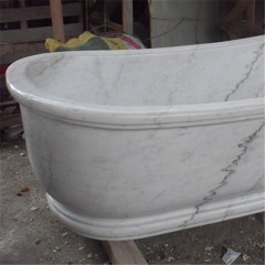 Natural stone bath tub, stone bathtub