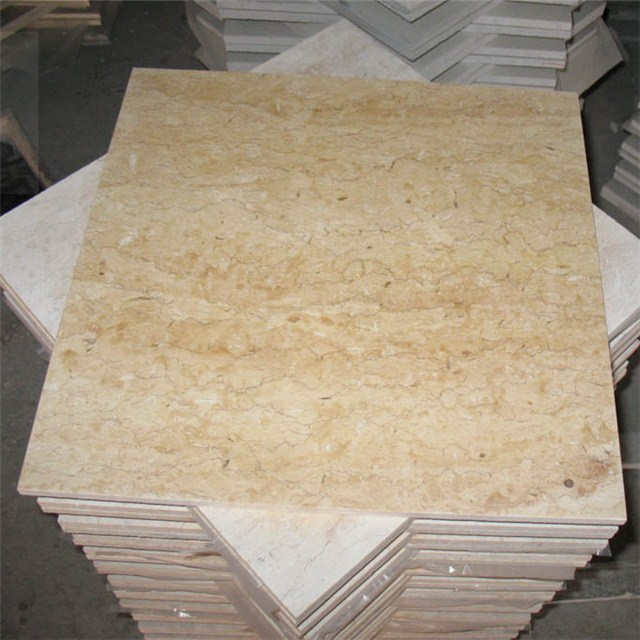 gold flower beige marble tiles