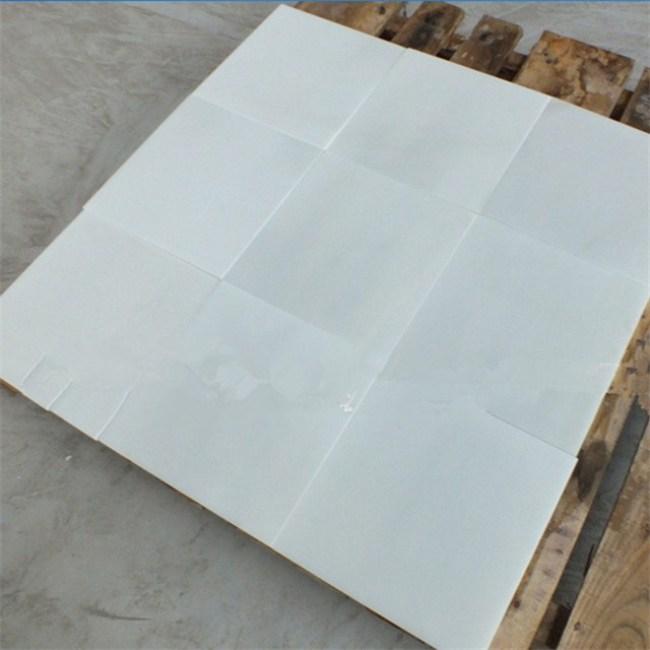 White jade marble tiles
