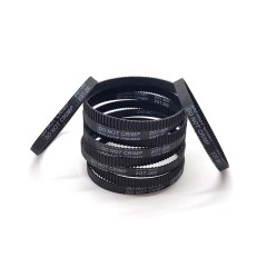 (Pack of 10pcs)3D Printer Timing Belt 2GT-6 Closed Loop Rubber Belt 200mm Width 6mm by LINGLONG(Black)