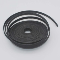 5m Black GT2 Timing Belt for 3D Printer by LINGLONG