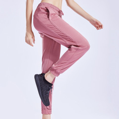 new loose breathable casual yoga fitness running pants for women