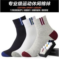 wholesale summer men's cotton sports socks