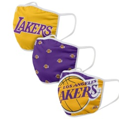 customized 3 layers Civil cotton dust mask with NBA printed