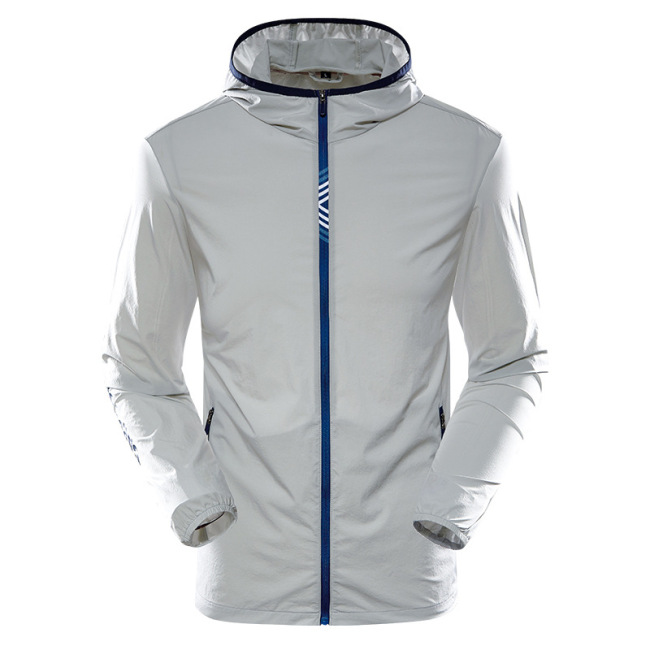 Men's skin suit sun proof clothes sports outdoor cycling fishing coat