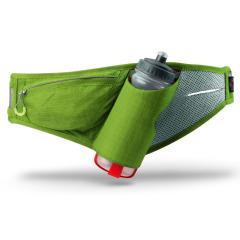 men's marathon sports running waist bag with water bottle