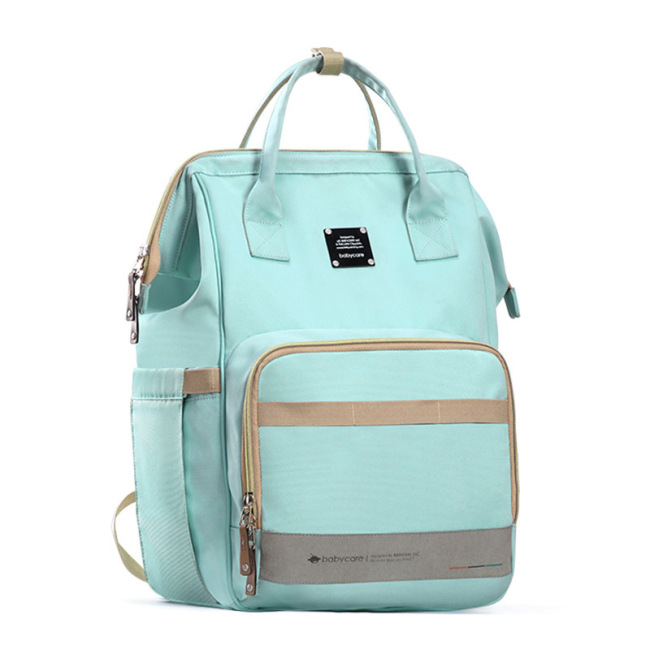 Mummy bag backpack can be carried out by hand; mother's bag; mother's and baby's bag