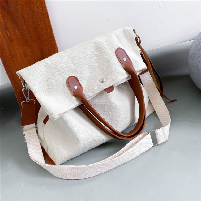 30 just Jiang Shuying Wang Manni same canvas bag 2020 new Korean handbag Canvas Shoulder Bag