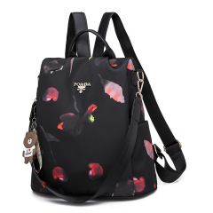 Factory direct sale double shoulder leisure versatile backpack Street trend camouflage large capacity mummy bag