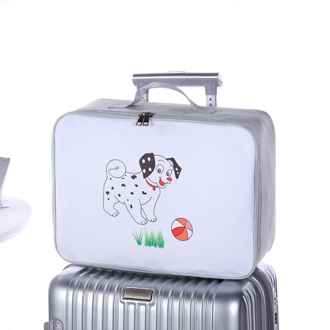 Cartoon make-up bag waterproof dustproof washing bag portable portable travel storage bag boarding bag spot wholesale