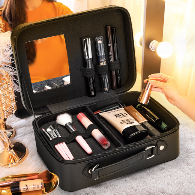 2020 new style make-up bag multi-layer large capacity Portable Travel Make-Up box