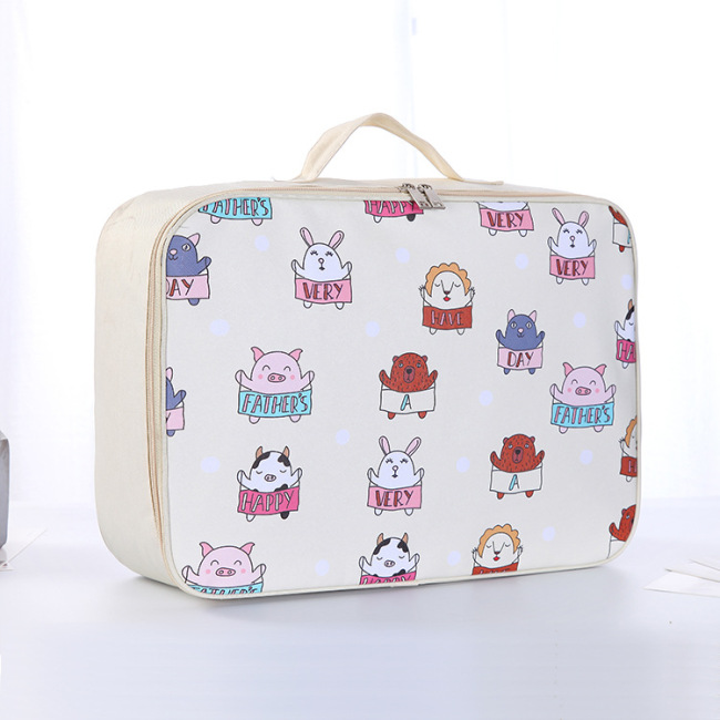 Cartoon make-up bag waterproof dustproof washing bag portable portable travel storage bag boarding bag spot wholesale