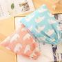 Self produced and self sold cotton and hemp drawstring storage bag clothing sorting bag travel shoes bundle pocket sundry underwear bag
