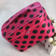 Rose red with black spots