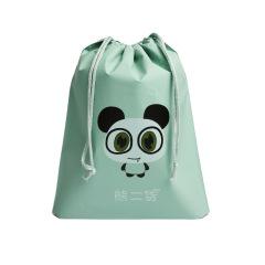 T object waterproof travel storage bag cartoon bundle pocket drawstring clothing storage bag travel separate packing and finishing bag
