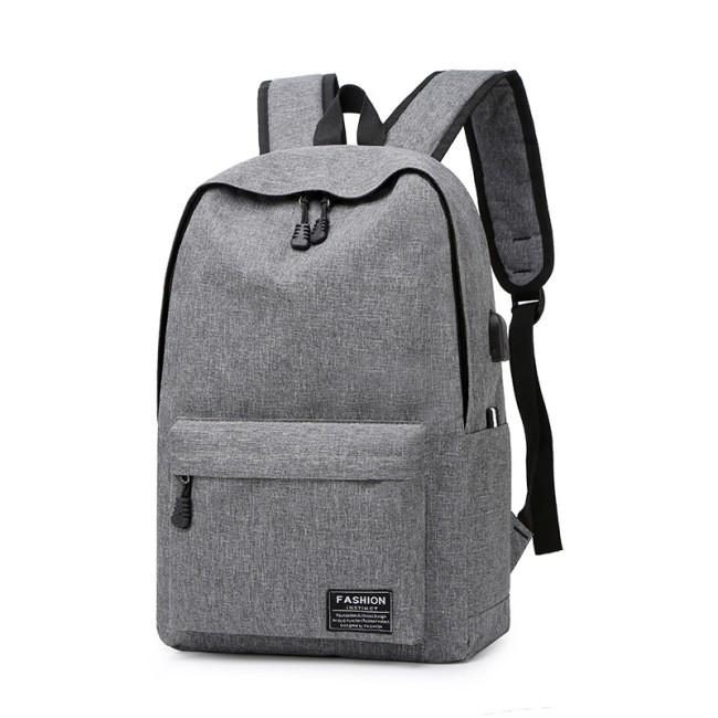 New Oxford middle school students' backpack Korean version of College style man computer schoolbag large capacity Backpack